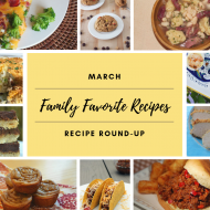 March Recipes: Family Favorites + Mackenzie Childs Check Steak Knife Set Giveaway