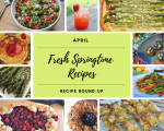 Springtime recipes + $75 Target gift card giveaway!
