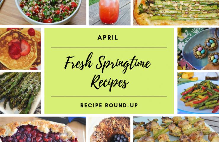 Springtime Recipes for April + $75 Target gift card giveaway!
