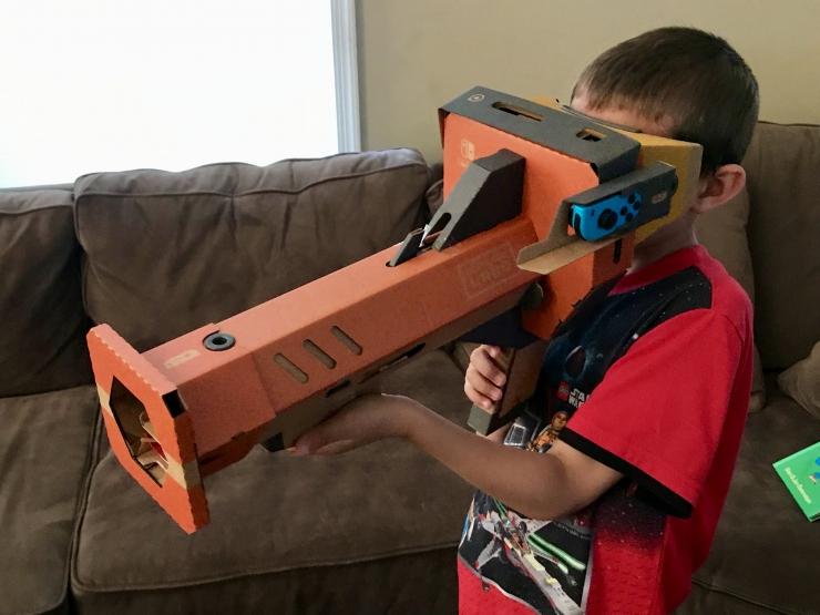 Nintendo Labo Virtual Reality Kit
