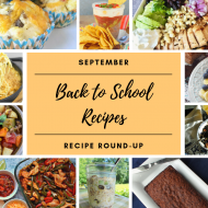Back to School Recipes #RecipeRoundUp