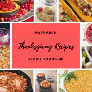 November Recipe Round-Up