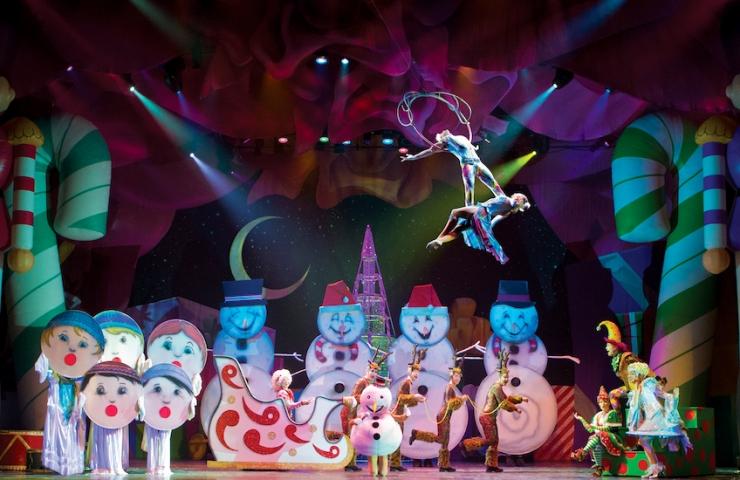 Cirque Dreams for the Holidaze