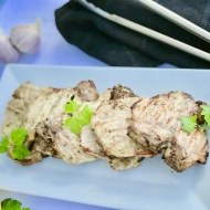 Cilantro Lime Grilled Pork Chops