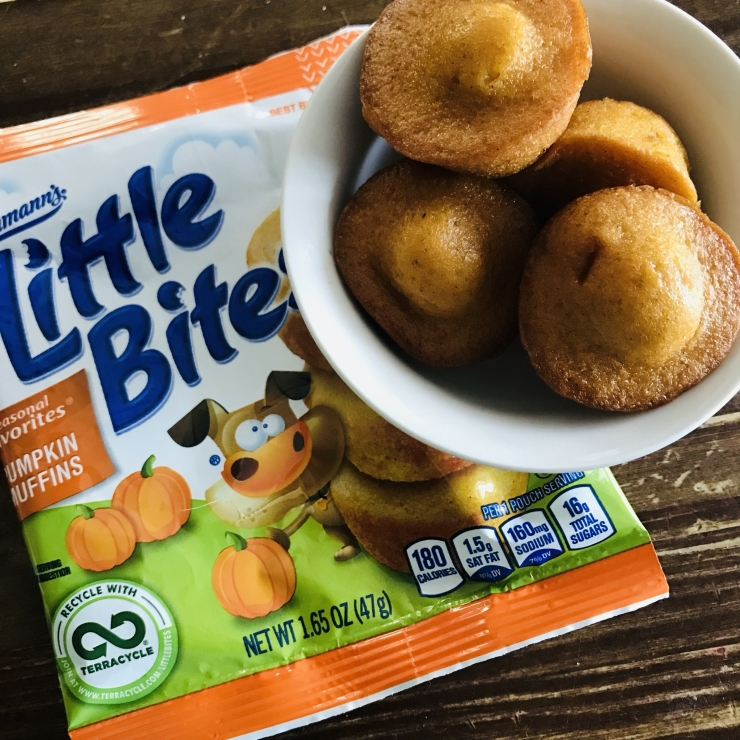 Little Bites Pumpkin Muffins Giveaway
